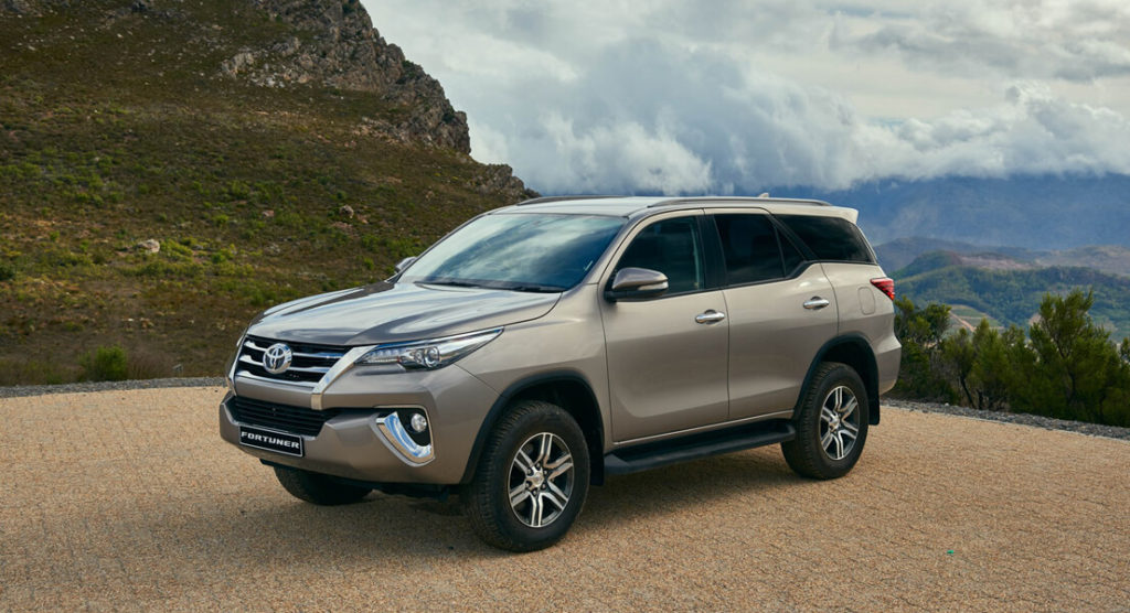 The all-new 2016 Toyota Fortuner