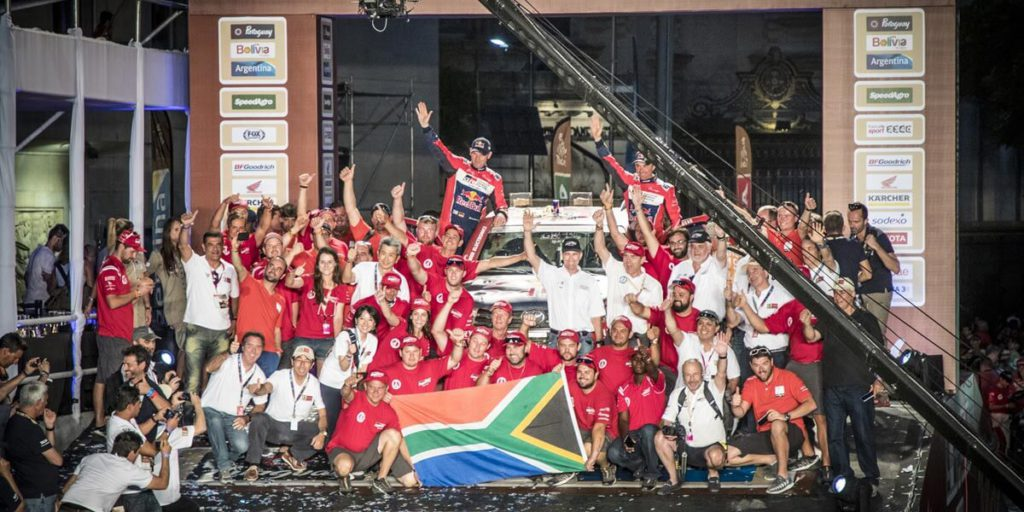 Dakar 2017 - 3 SA-built Toyota Hilux Race Vehicles Finish in The Top 10