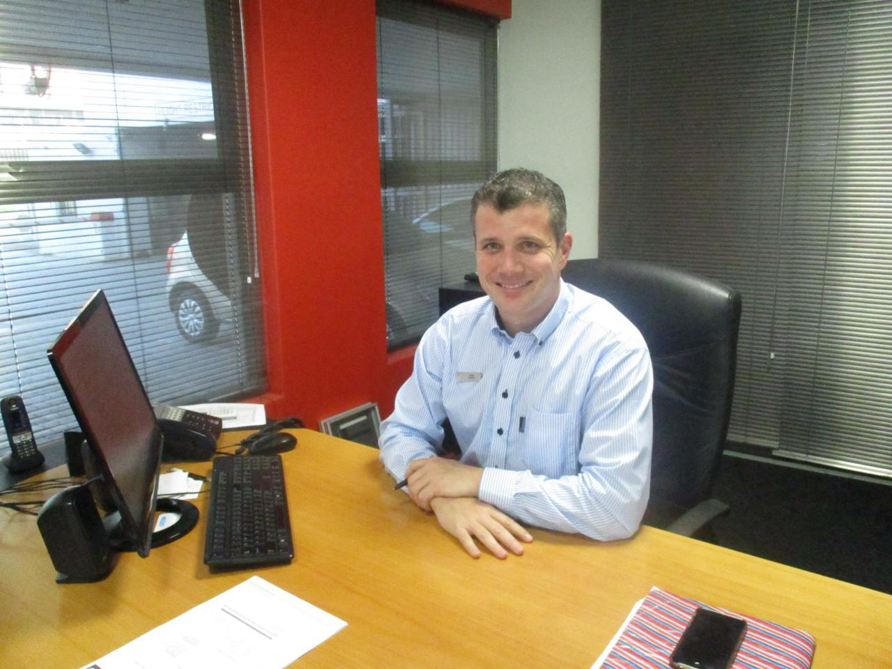 The The New Cmh Toyota Melrose Dealer Principal Dean Chater
