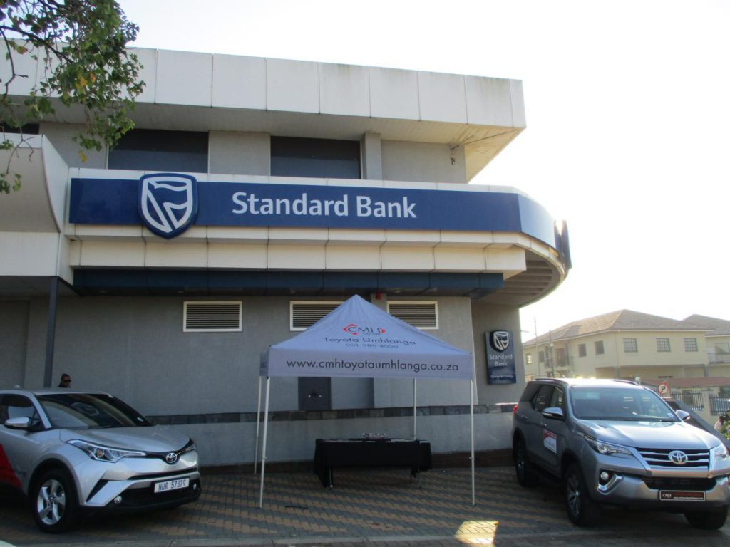 Standard Bank Vehicle Asses Finance Display