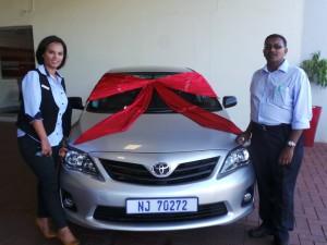 Mr Harrysharan - CMH Toyota Deliveries
