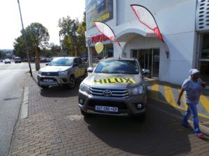 Hilux Test Drive Day