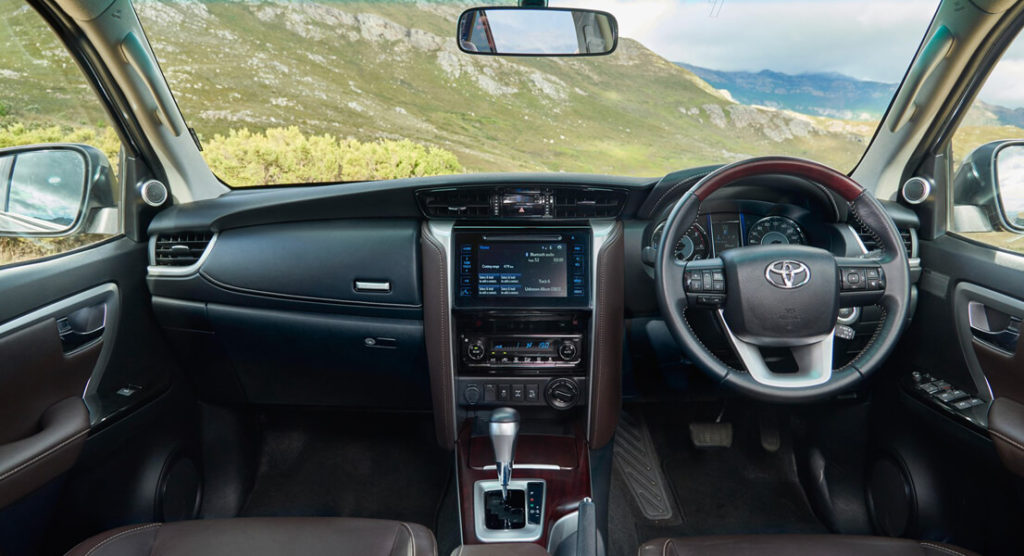 Light years ahead, the all-new Toyota Fortuner interior