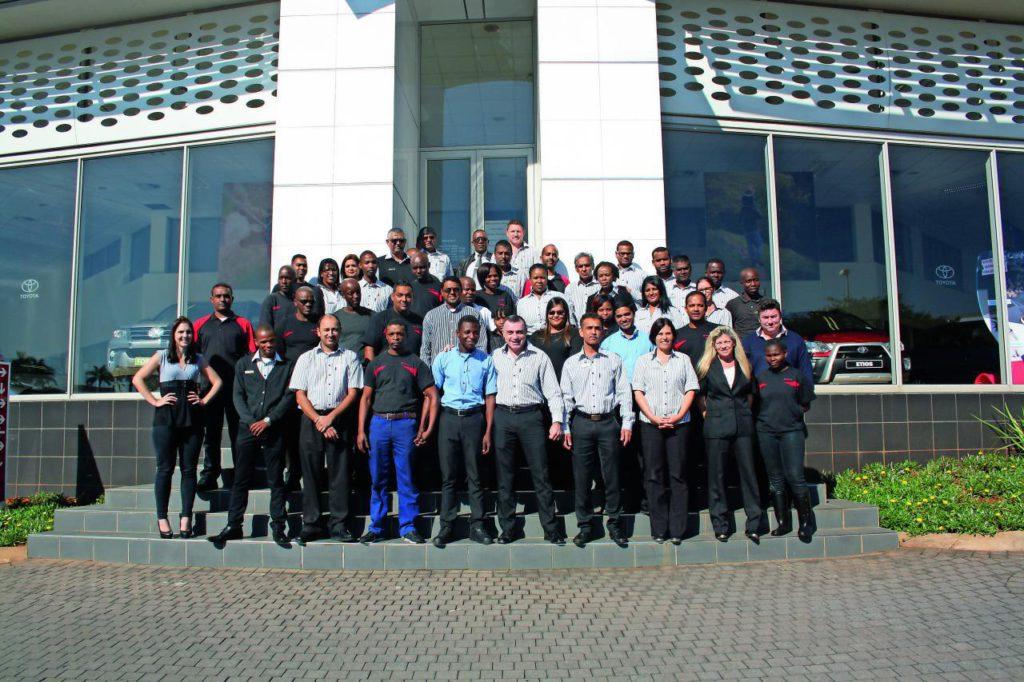 CMH Toyota Umhlanga Dealer of the year