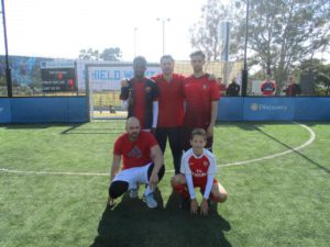 Sorbet Man Kick It For A Cause Annual Football Challenge