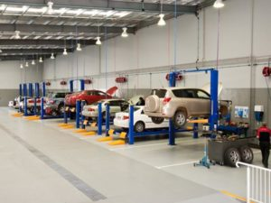 CMH Toyota Alberton- Vehicles workshop