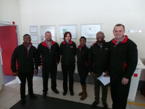 CMH Toyota Alberton- Vehicle service team