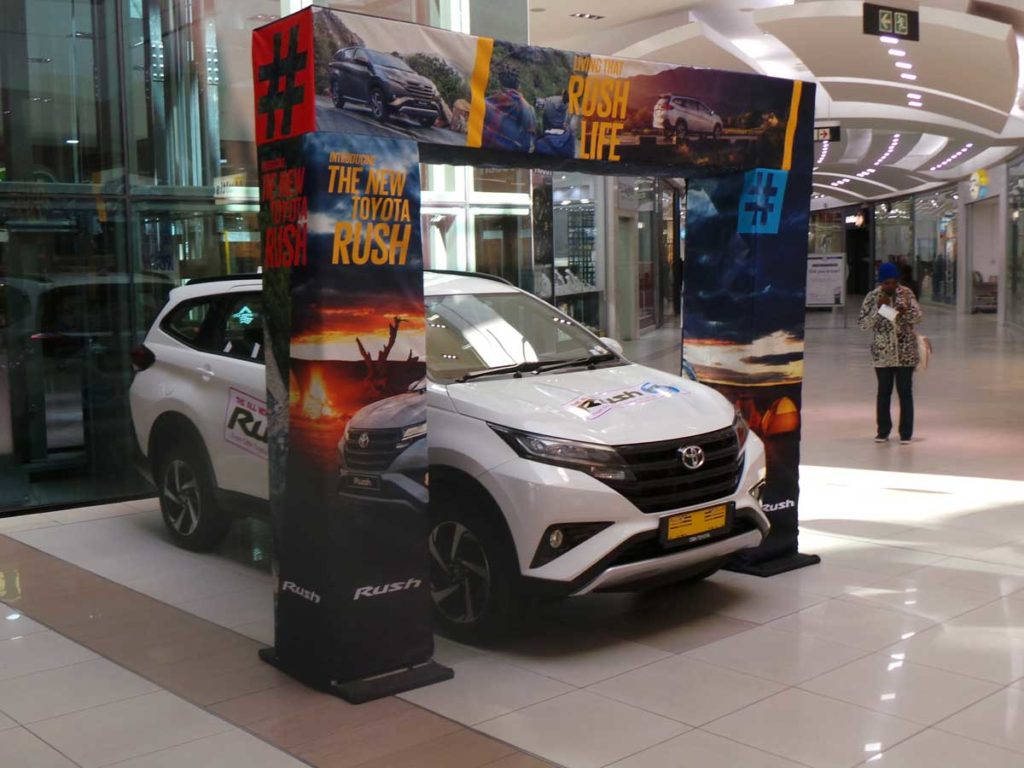 CMH-Toyota-Alberton-display-of-the-New-Rush