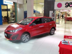 CMH-Toyota-Alberton-display-of-the-New-Toyota-Yaris-Red
