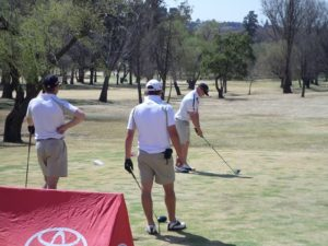 Golf players and CHM Toyota Alberton staff 4