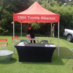 CMH Toyota Alberton at Bell Equipment Golf Day, Water hole