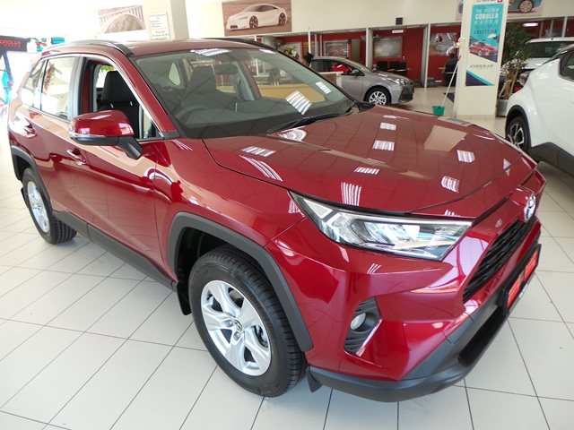 The Vibrant New Rav4