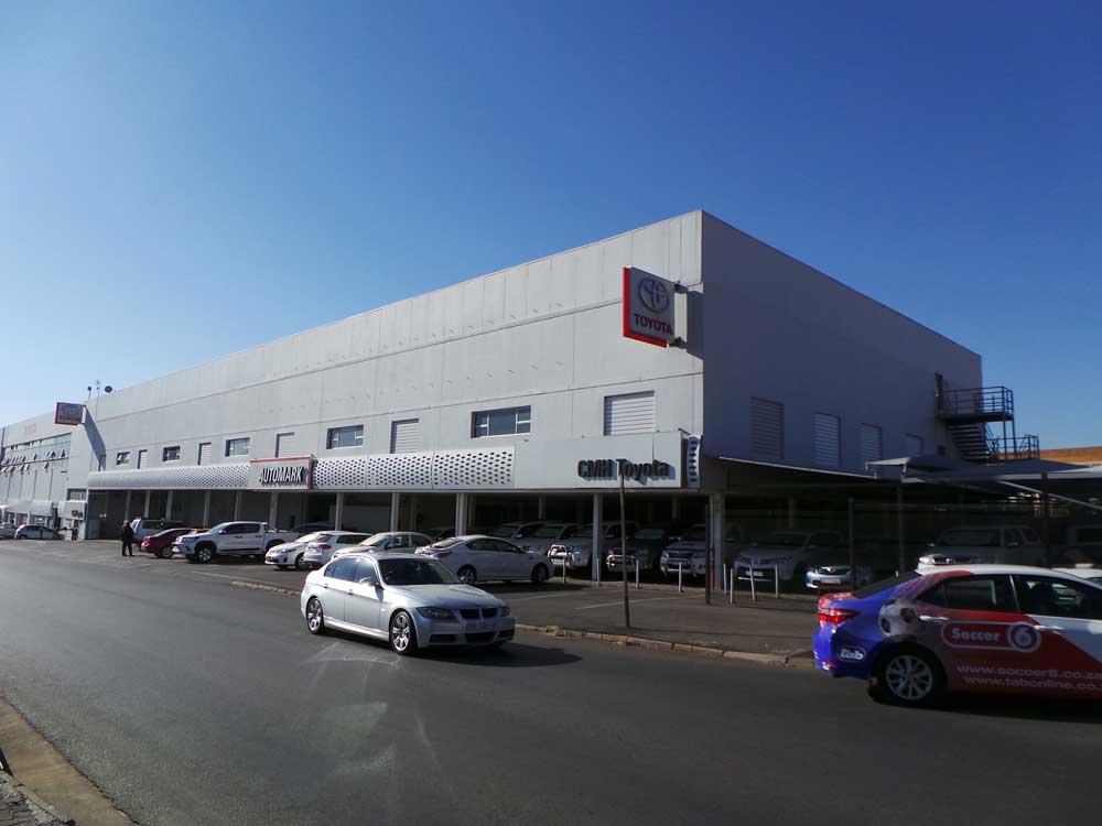Toyota Alberton Automark Department