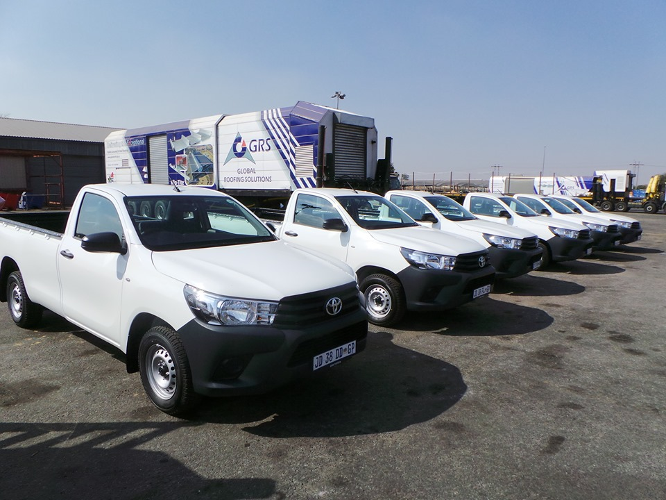 CMH Toyota- White Toyota Hilux Single Cab fleet