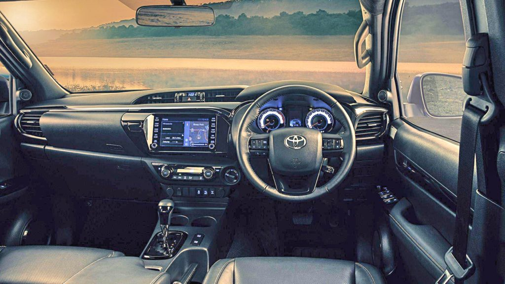 Toyota Hilux Luxurious & Ergonomic Interior