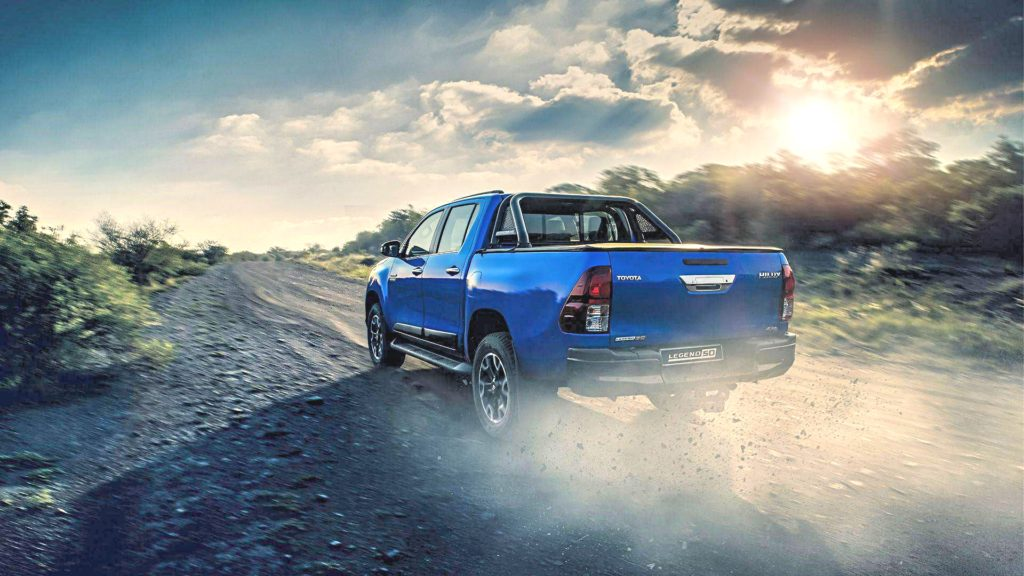 Responsive Power - Stirring Up Dust Blue Hilux