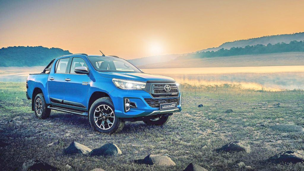 Toyota Hilux Legend 50 Sunset Lake Blue Hilux
