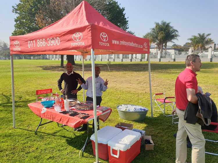 CMH Toyota Alberton sponsoring another water hole
