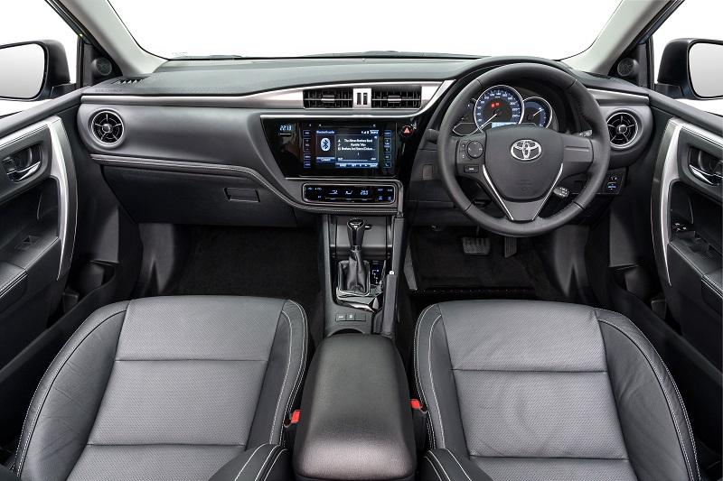 Toyota Alberton - Toyota Corolla Quest Specious interior