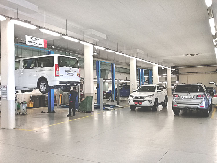 CMH Toyota Umhlanga - Toyota-Workshop