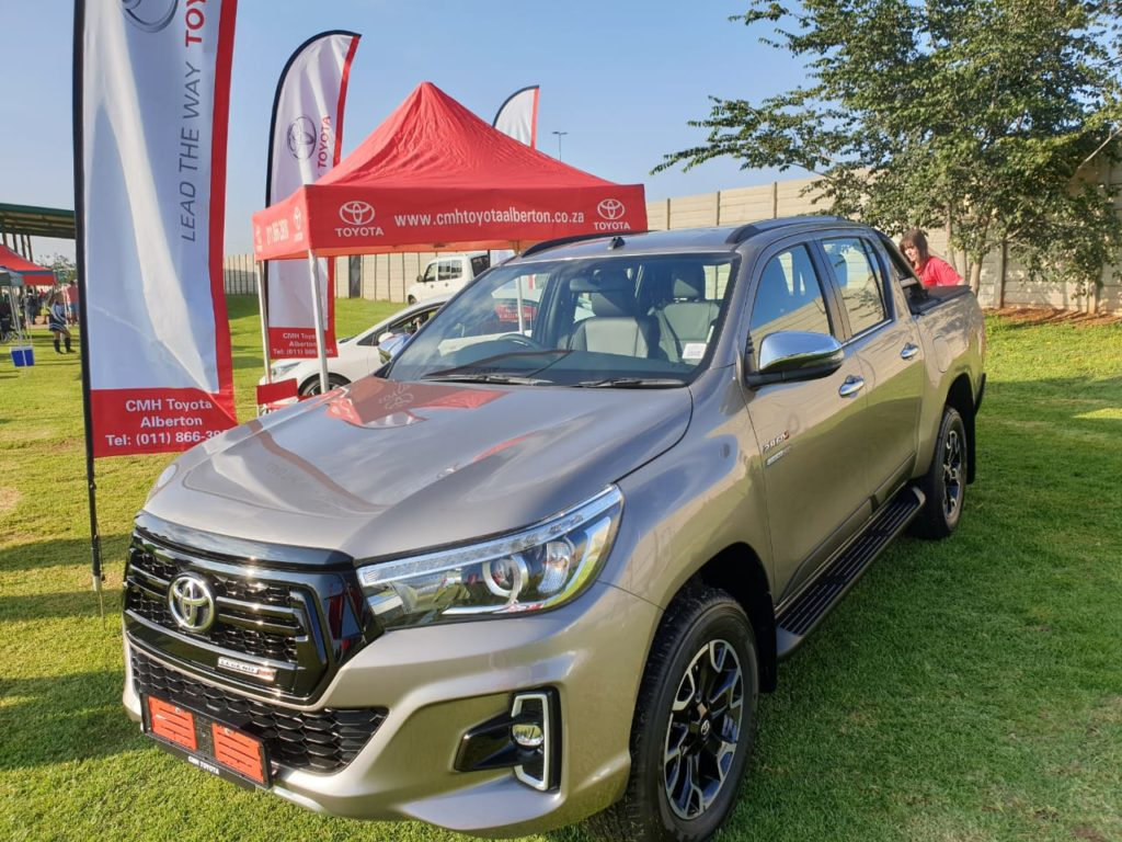 CMH Toyota Alberton - Toyota Hilux Vehicles on display