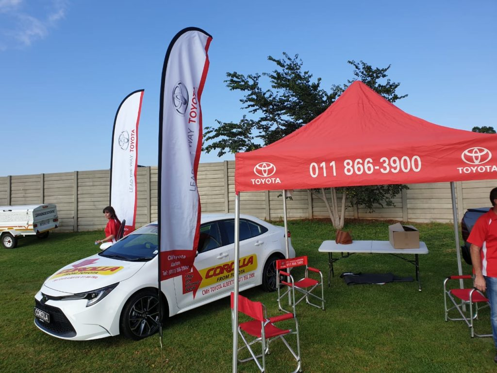 CMH Toyota Alberton - Corolla Vehicles on display