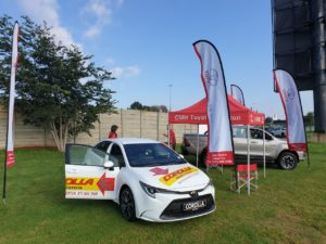 Toyota Alberton - Vehicles on display