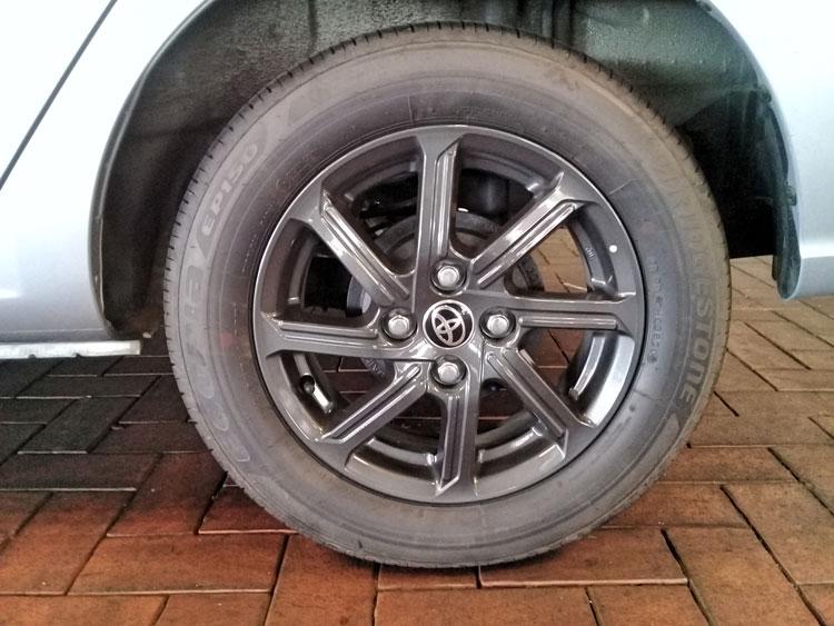 Toyota Ayga - CMH Toyota 14 inch aloy wheel - Toyota Ayga - CMH Toyota Umhlanga