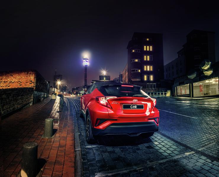 Toyota C-HR Rear