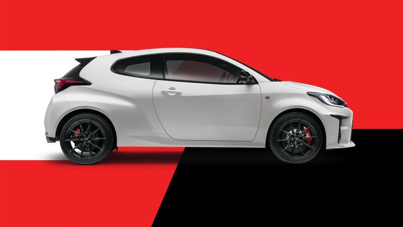 Toyota Yaris GR Side View