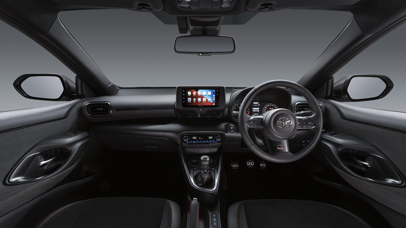 Interior infotainment and steering