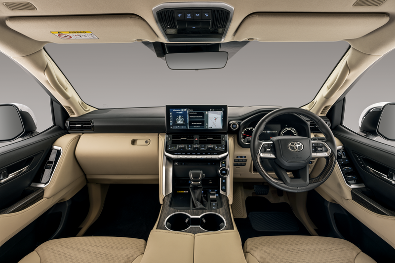 CMH Toyota Alberton introduces the all new Toyota Land Cruiser 300 Infotainment System