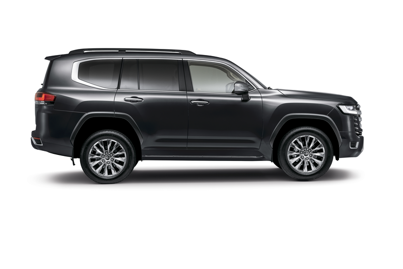 CMH Toyota Alberton introduces the all new Toyota Land Cruiser 300 Side View